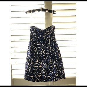 Shoshanna Strapless Mini Dress